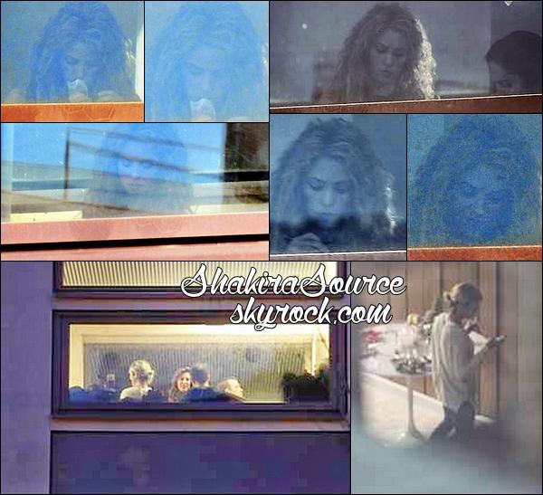 🎥 Shakira était sur le Tournage du Clip « La La La (Brazil 2014) ». 13 Mars 2014 - Barcelone, Espagne.