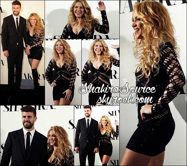 ✴️ Shakira & Gérard sont allés au « Hôtel W » pour le « Lancement de l'album Shakira ». 2o Mars 2014 - Barcelone, Espagne.