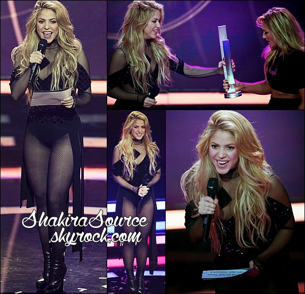✴️ Shakira est allée aux « Echo Award 2014 » & y a chanté Can't Remember To Forget You. 27 Mars 2014 - Berlin, Allemagne.