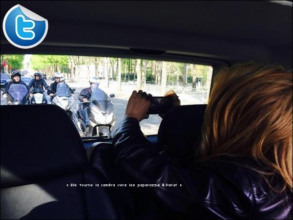 📺 Shak était l'invitée de Antoine de Caunes pour l'émission « Le Grand Journal » sur Canal Plus. 28 Mars 2014 - Paris, France.