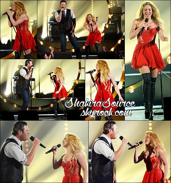 ✴️ Shakira est allée au « MGM Grand Hotel & Casino » pour le « 49th Annual Academy Of Country Music Awards ». o6 Avril 2014 - Las Vegas, Etats-Unis.
