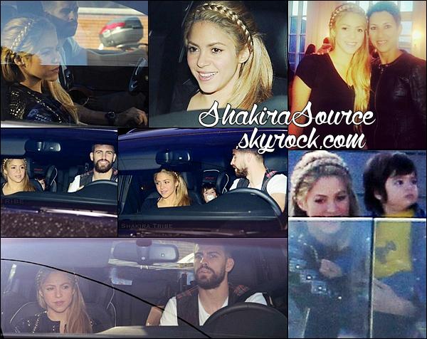🎂 Gérard, Shakira & Milan sont allés à « L'Anniversaire » de Lia, la fille de Fabregas. 1o Avril 2014 - Barcelone, Espagne.