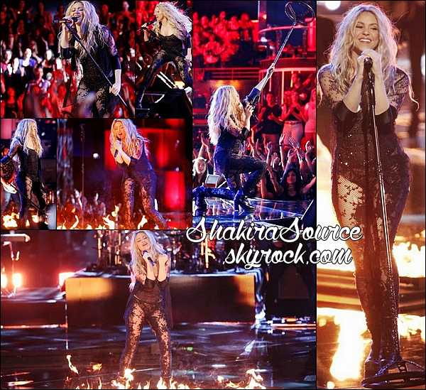 🎤 Shakira a interprété Empire sur le « Plateau de The Voice ». 22 Avril 2014 - Los Angeles, Etats-Unis.