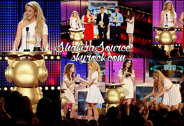 ✴️ Shakira est allée aux « Radio Disney Music Awards ». 26 Avril 2014 - Los Angeles, Etats-Unis.