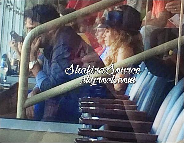 ⚽ Shak & Tonino sont allés encourager Gérard lors du match « Espagne / El Salvador ». o7 Juin 2014 - Washington, Etats-Unis.