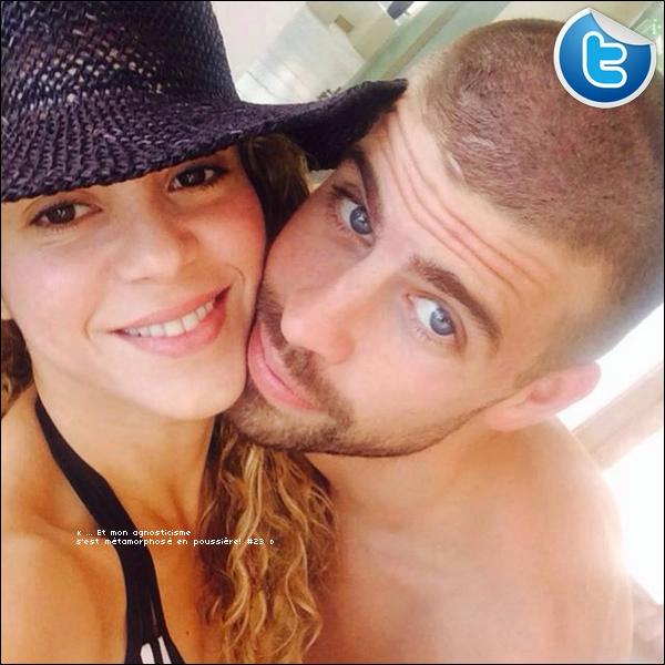 🍴 Shakira, Gérard, Milan & Tonino ont été vus « Quittant un Restaurant ». o7 Juillet 2014 - Miami, Etats-Unis.