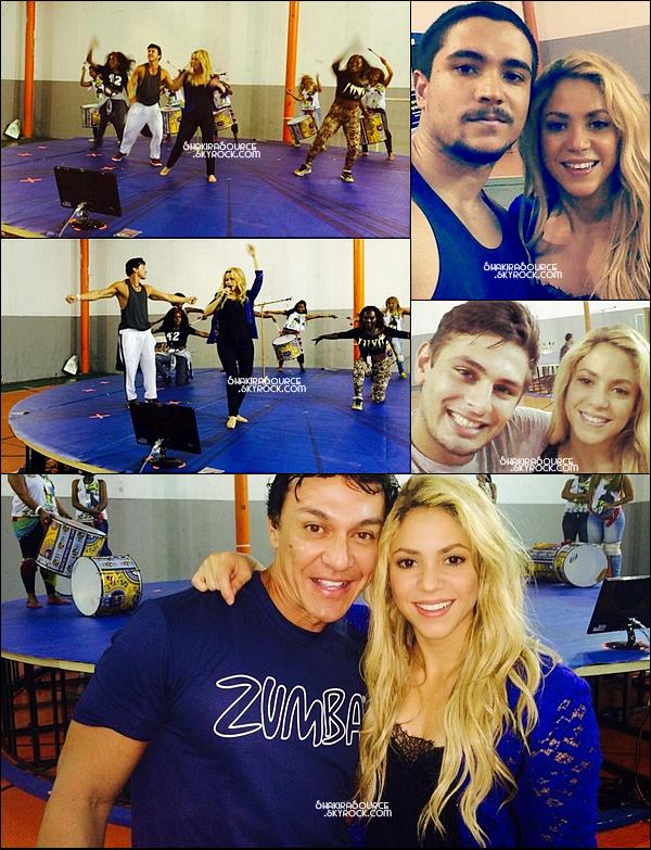 12 Juillet 2014  | Shakira a été interviewée pour « El Gorgo y La Flaca »  à Rio de Janeiro, Brésil.   La vidéo sera diffusé le 14 Juillet.