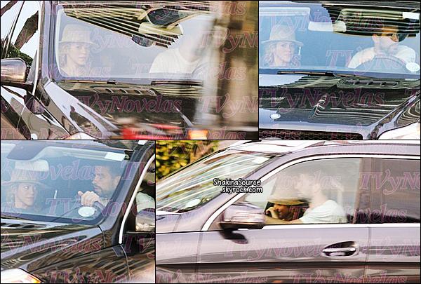 🌴 Shakira, Gerard & Milan sont en vacances à Miami.  18 Septembre2014, Miami.