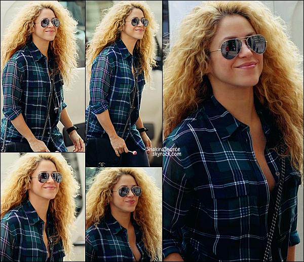 🎨 Shakira & ses beaux-parents sont allés visiter le Musée d'Orsay.  01 Octobre 2014, Paris.