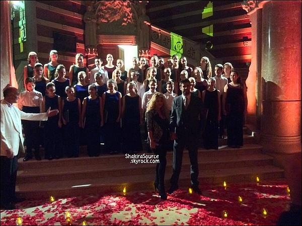 🎂 Shakira & Gerard sont allés au 100ème anniversaire de la marque Puig.   22 Octobre 2014, Barcelone.