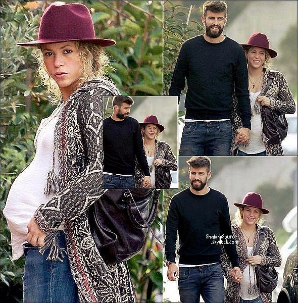 🍸 Shakira & Gerard sont allés boire un verre avec Jaume de Laiguana.  24 Novembre 2014. Barcelone, Espagne.