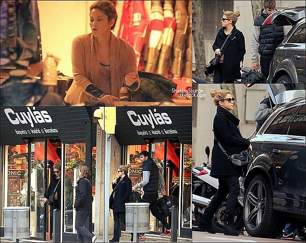 🏬 Shakira & Tonino sont allés faire du shopping au magasin New Look.  16 Décembre 2014. Barcelone, Espagne.