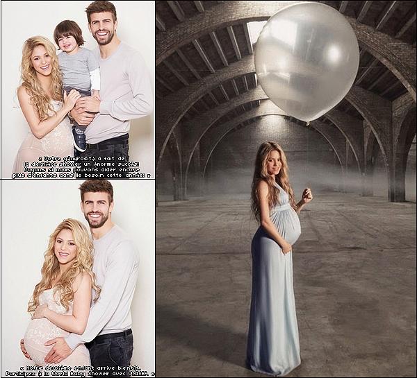 🎂 Shakira, Gérard & Milan sont allés au Juan Carlos Hotel pour fêter le 2e anniversaire de Milan.  22 Janvier 2015. Barcelone, Espagne.