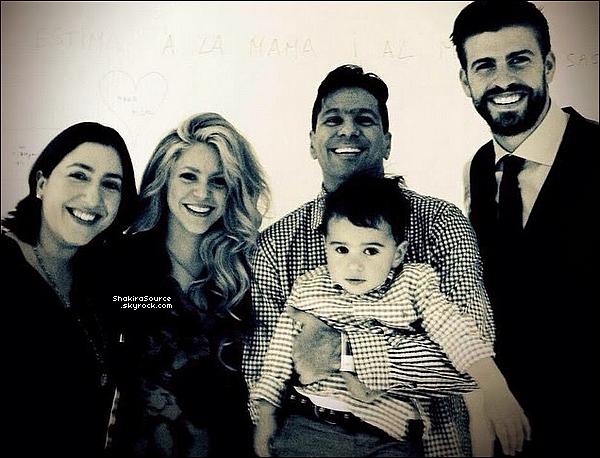 🍴 Shakira & Gérard ont été vus dans un « Restaurant Italien ». 19 Mai 2o15. Marrakech, Maroc.