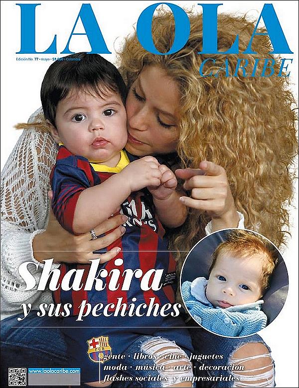 🎤 Shakira a donné une interview au magazine La Ola Caribe.   Mai 2015, Colombie.