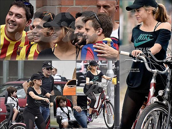 🎈 Enfin, Shakira & Gérard sont allés « Fêter la Victoire » lors d'une soirée. o6 Juin 2o15. Berlin, Allemagne.