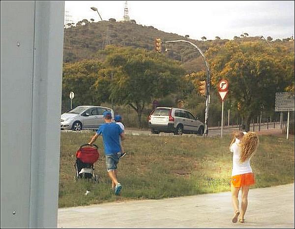 🎂 Shakira a posté des photos de Sasha à l'occasion « de ses 5 mois ». 29 Juin 2o15. Barcelone, Espagne.