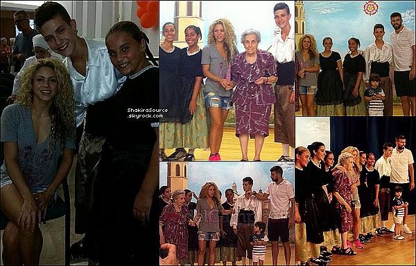 📷 Shakira a donné une petite Interview à « Cosmopolitan Magazine ». Août 2o15. Espagne.
