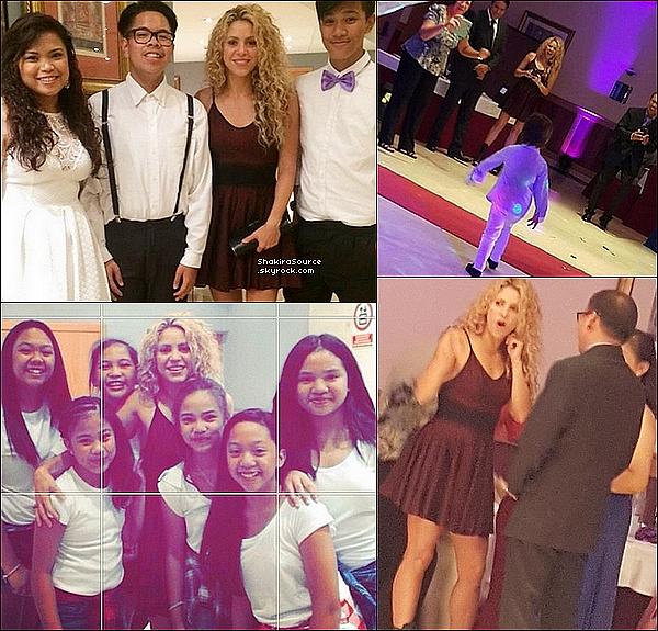 🎾 Shakira & Tonino ont « Joué au Tennis » pendant que Milan & Sasha profitaient de la piscine avec leurs grands parents, leurs cousins & la nounou. 13 Septembre 2015 - Barcelone, Espagne.