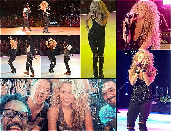 🎤 Shakira a chanté durant le « Target's Fall National Meeting ». 16 Septembre 2015 -  Minnesota, Etats-Unis.