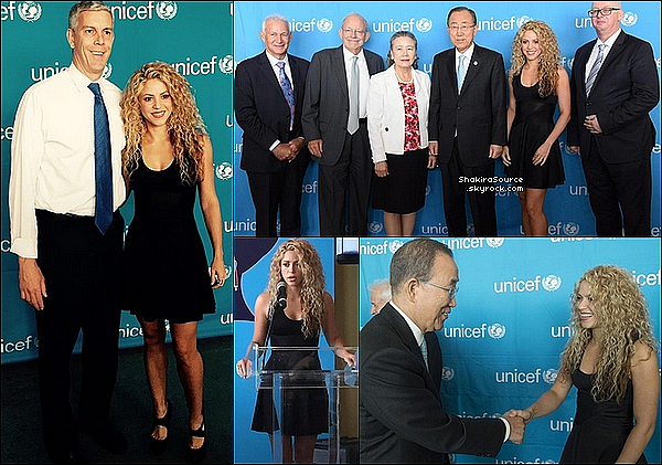 🎤 Shakira est allée à la conférence «  Meeting of the Minds » au « Siège des Nations Unies ». 22 Septembre 2015 - New-York, Etats-Unis.