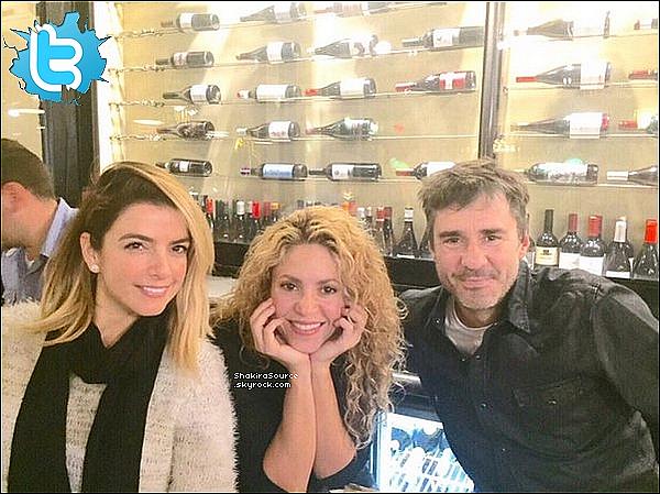 🎤 Shakira & Gerard sont allés au « Concert de Madonna » qui se déroulait au Palau Sant Jordi. 25 Novembre 2015 Barcelone - Espagne.