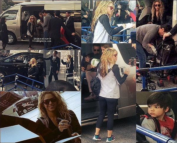 🏨 Shakira, Gérard, Milan & Sasha ont « Visiter la ville de Yokohama ». 18 Décembre 2015 - Yokohama, Japon.