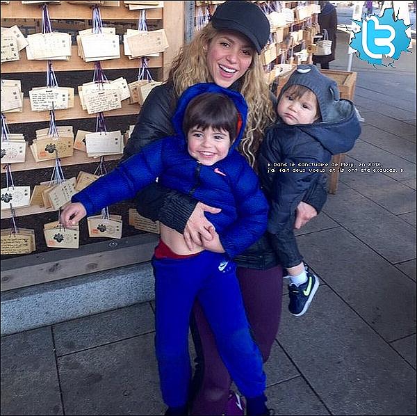 🎉 Shakira & Gérard ont passé le « Réveillon de Nouvel-An » en famille. 31 Décembre 2015 - Barcelone, Espagne.