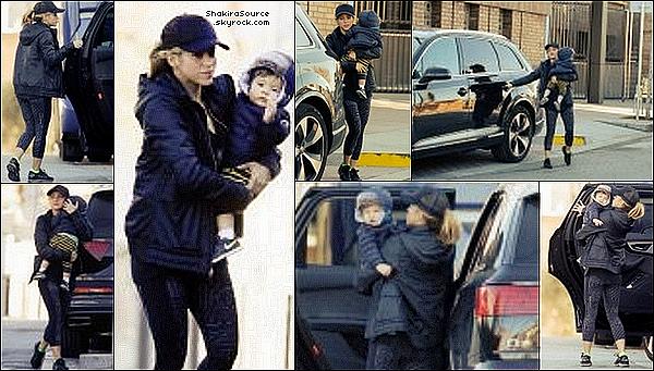 🏥 Shakira a été vue se rendant à la « Clinique Casellas ». 21 Janvier 2o16 - Barcelone, Espagne.