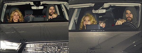 🎒 Le matin, Shakira & Gérard ont emmené Milan « A la Maternelle ». Le soir, toute la famille et quelques amis se sont réunis à « L'Hôtel Juan Carlos I » pour fêter l'anniversaire de Milan.   22 Janvier 2o16 - Barcelone, Espagne.