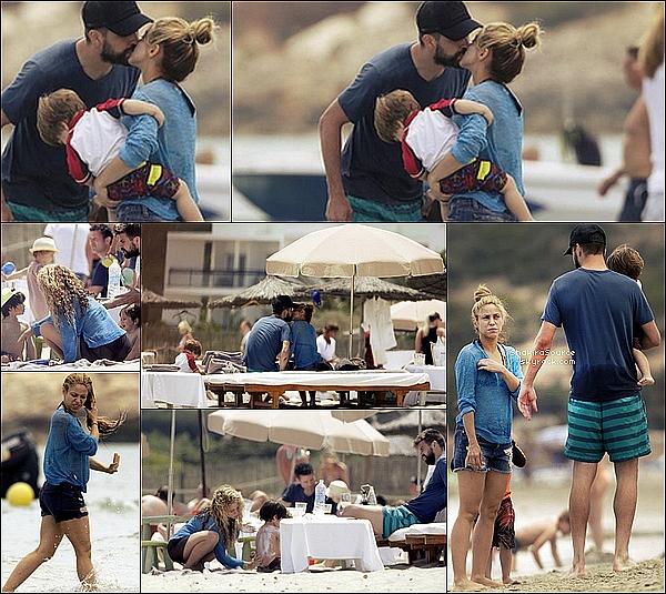 🌴 Shakira, Gérard, Milan & Sasha ont passés des « Vacances »  à Ibiza.  Du 23 au 26 Mai 2o16 - Ibiza, Espagne.
