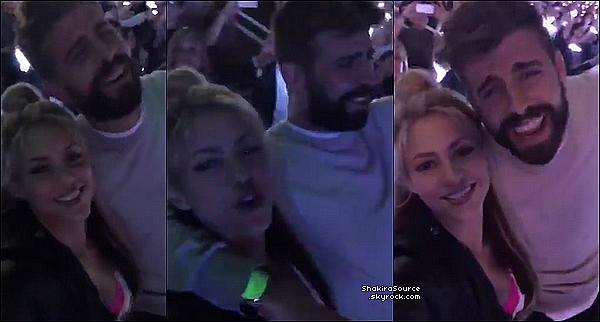🎢 Shakira, Gérard, Milan & Sasha sont allés dans un « Parc d'Attractions » .  o2 Juin 2o16 - Barcelone, Espagne.
