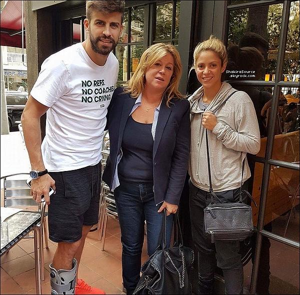 🏀 Gérard a emmené Milan voir un « Match de Basket »  du FC Barcelone contre le Real Madrid. o6 Novembre 2o16 - Barcelone, Espagne.