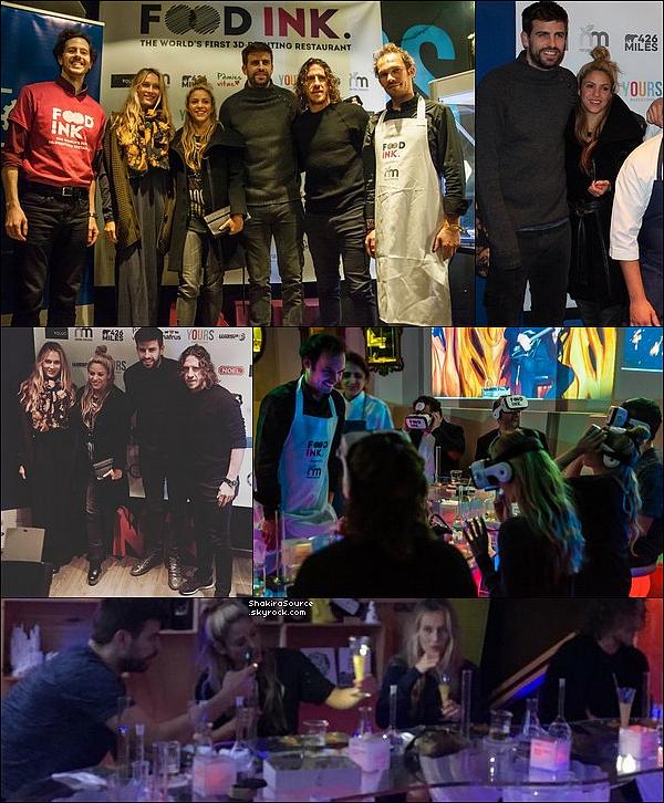 ✴️ Shakira & Gérard sont allés au « BCN3D Technologies ». o8 Décembre 2o16 - Barcelone, Espagne.