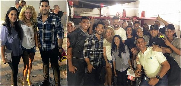🍴 Shakira, Gérard, Milan & Sasha sont allés dîner au « Restaurant Noa ». 26 Décembre 2o16 - Barranquilla, Colombie.