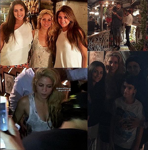 🍴 Enfin, Shak, Gérard, Milan & Sasha sont allés dîner à « La DIVA Pizzeria ». 27 Décembre 2o16 - Barranquilla, Colombie.