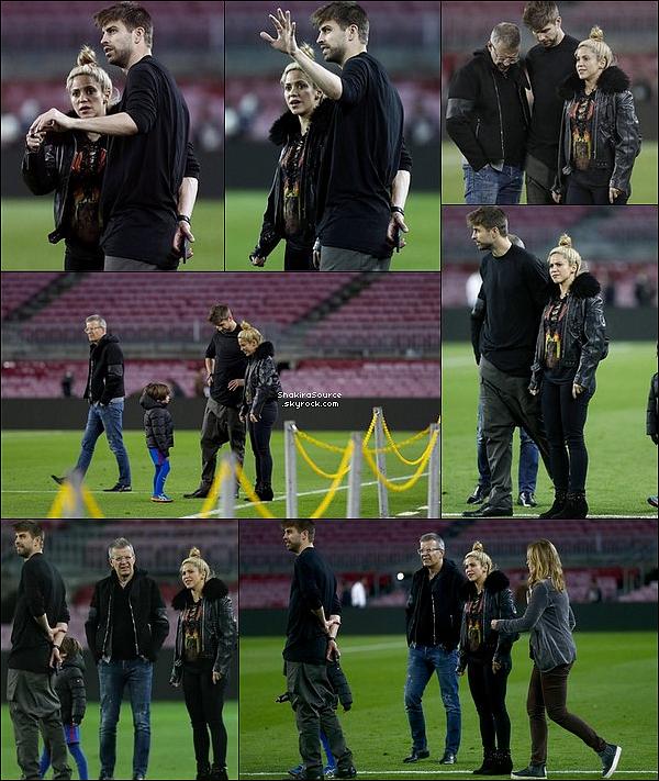 🚶 Shakira & sa famille profitent de quelques jours de repos « A la Montagne ». 15 Mars 2o17 - ?, Espagne.
