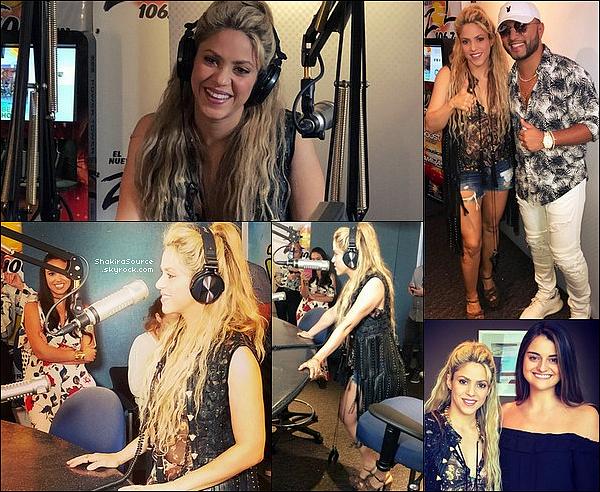 🎤 Le soir, Shakira a donné un petit concert surprise au « Wynwood Yard Restaurant » où elle a interprété quelques chansons de son nouvel album. 26 Mai 2o17 - Miami - Etats-Unis.