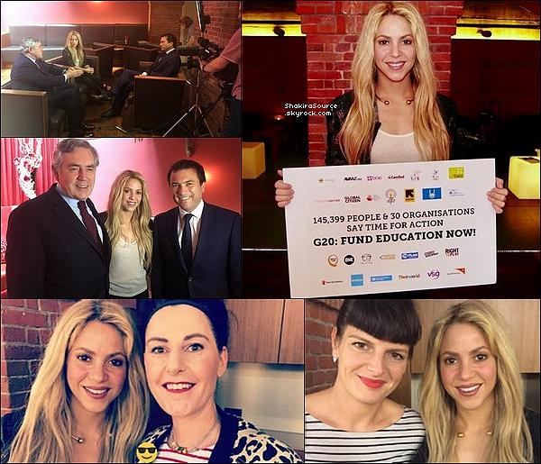 🎤 Shakira a accordé une Interview aux médias « CNN, le Programme Café & la BBC ». o7 Juillet 2o17 - Hambourg, Allemagne.
