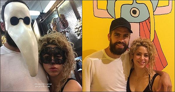 🎤 Shakira « Se Prépare » pour El Dorado Tour qui commence le o8 Novembre. Fin Octobre 2o17 - Barcelone, Espagne.