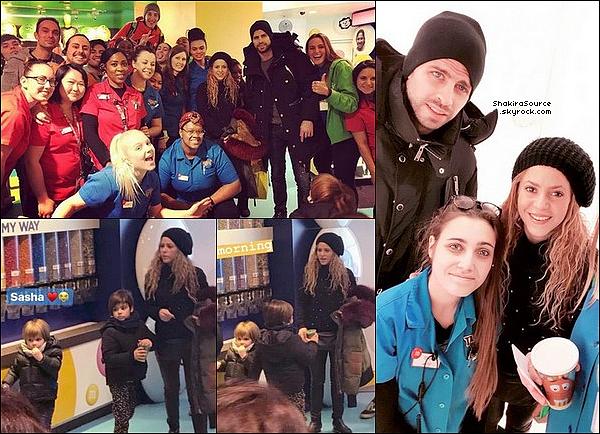 🎵 Shakira a posté une photo d'elle lors d'un « Entraînement » avec Anna Kaiser. 27 Mars 2o18 - Barcelone, Espagne.