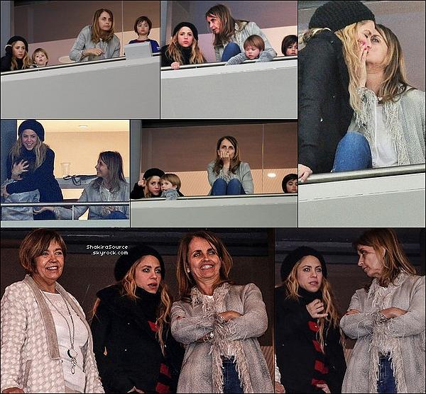 ⚽ Ensuite, Shak, Milan, Sasha & Montserrat sont allés au « Wanda Metropolitano Stadium » pour la Finale de la Copa del Rey qui opposait le FC Barcelone au FC Séville. 21 Avril 2o18 - Madrid, Espagne.
