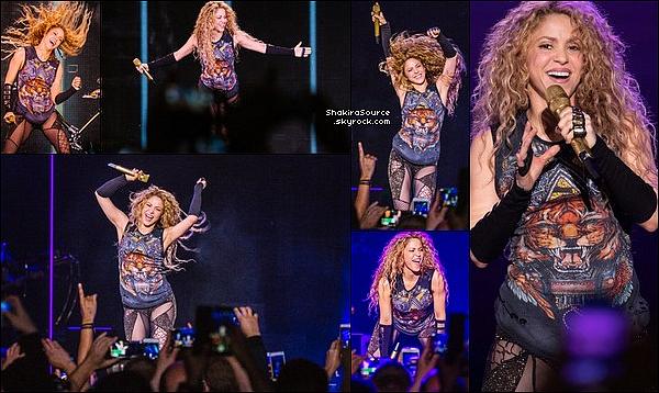 🎤 Shakira a donné un Concert au  « Barclaycard Arena » pour El Dorado Tour. o3 Juin 2o18 - Hambourg, Allemagne.
