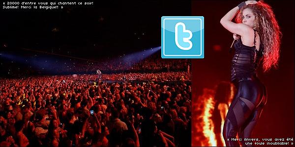 🎤 Shakira a donné un Concert au  « Sportpaleis » pour El Dorado Tour. o7 Juin 2o18 - Anvers, Belgique.