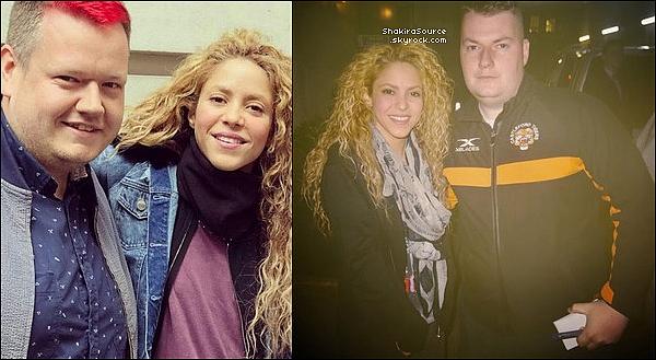 📷 Shakira a été vue « Avec des Fans ». 12 Juin 2o18 - Londres, Angleterre.