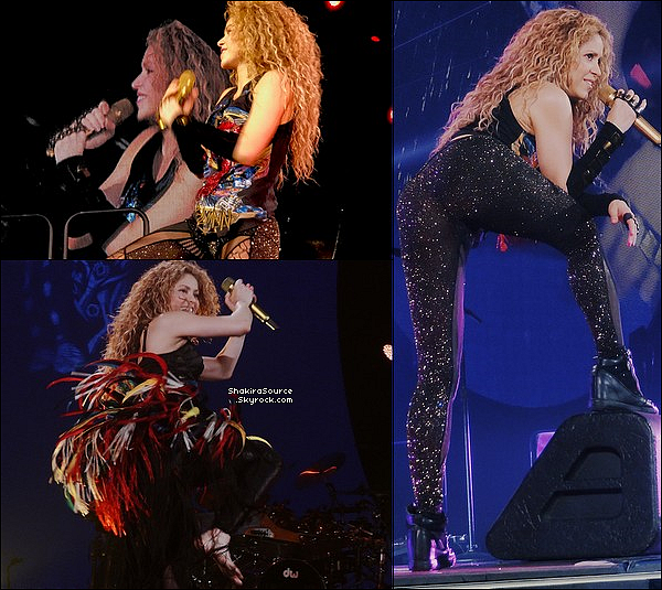 🎤 Shakira a donné un 2e Concert au « AccorHotels Arena » pour El Dorado Tour. 14 Juin 2o18 - Paris, France.