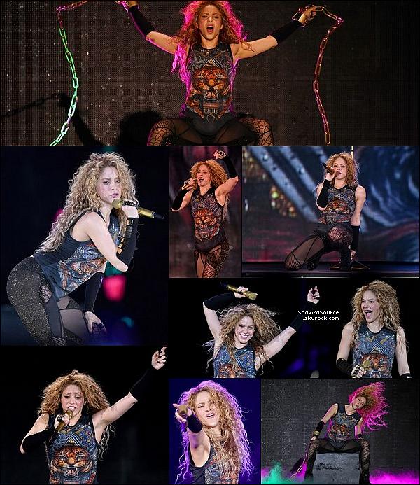 🎤 Shakira a donné un Concert au « Olympiahalle » pour El Dorado Tour. 17 Juin 2o18 - Munich, Allemagne.