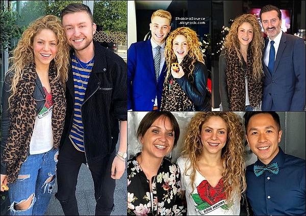 🚶 Shakira a été vue « Quittant l'Hôtel Sofitel ». 2o Juin 2o18 - Esch-sur-Alzette, Luxembourg.