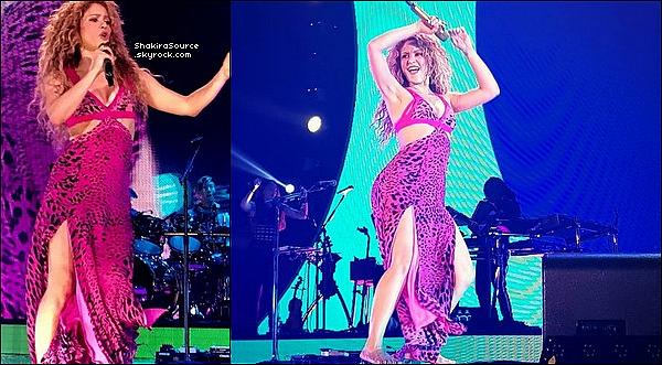 🎤 Shakira a donné un Concert au « Hallenstadion » pour El Dorado Tour. 22 Juin 2o18 - Zurich, Suisse.