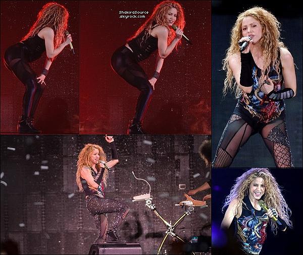 🎤 Shakira a donné un Concert au « Sud de France Arena » pour El Dorado Tour. 25 Juin 2o18 - Montpellier, France.
